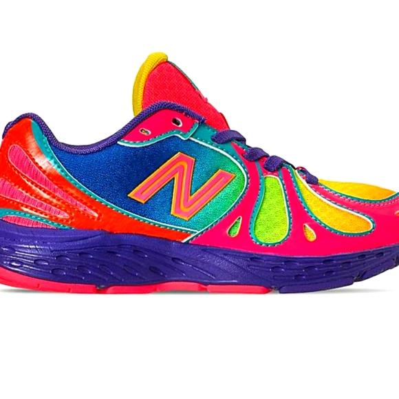 New Balance Shoes   890 Rainbow Running